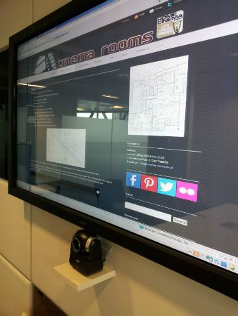Touch Screen TV & VC Camera